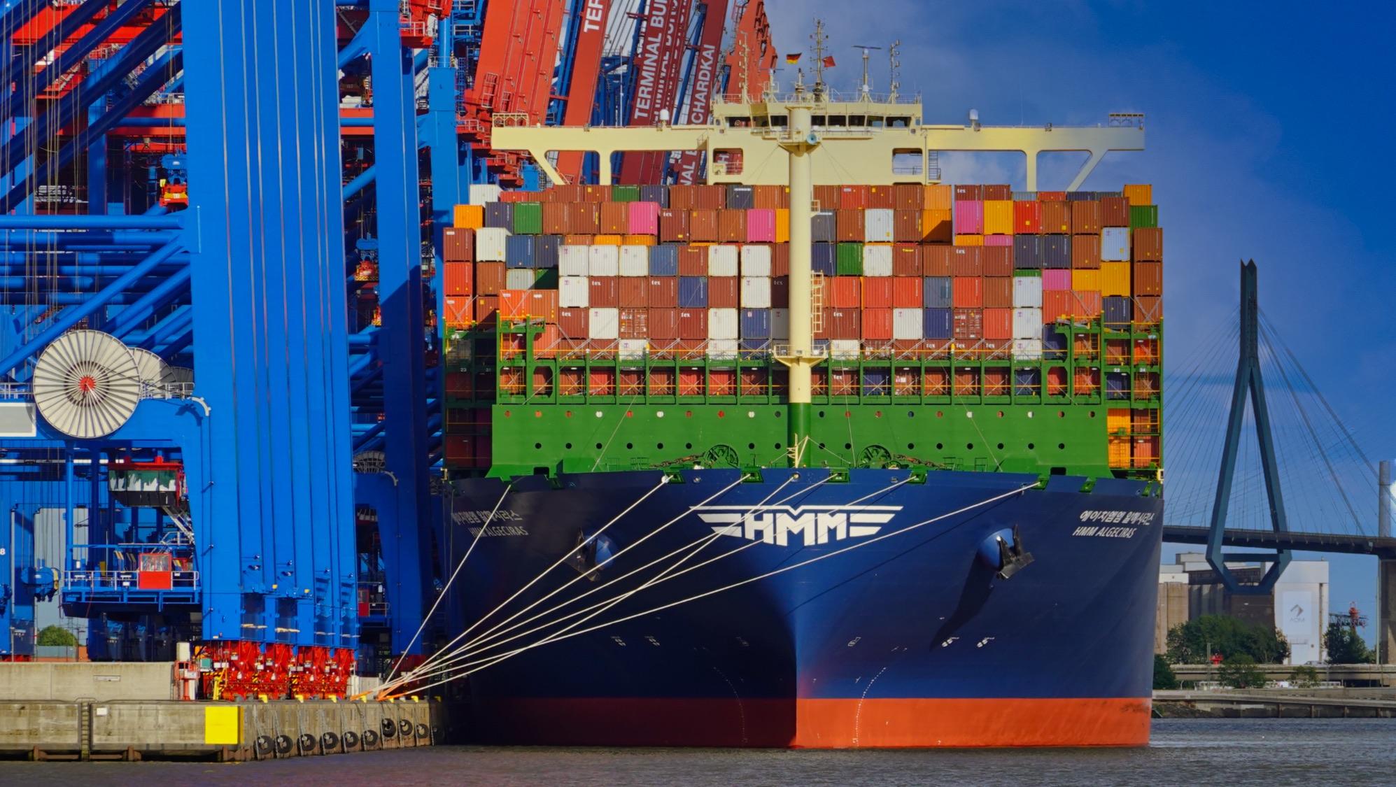 Hamburger Hafen Größe